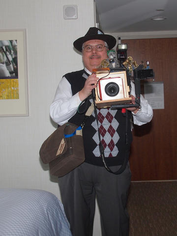 My steampunk costume and camera