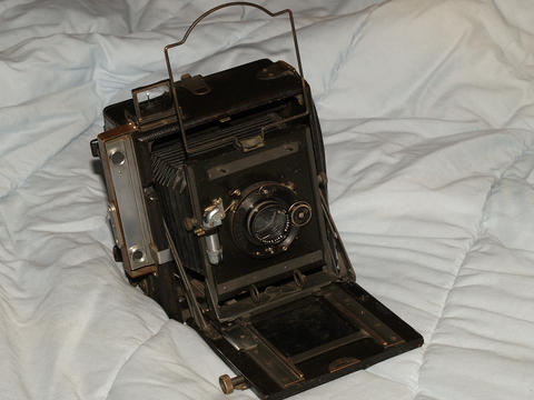 Folmer Grafex Speed Graphic 4x5 large format camera