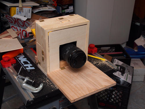 Building the camera box