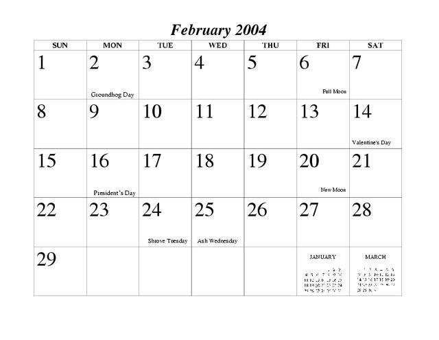 2004 Maine Renaissance Faire Calendar